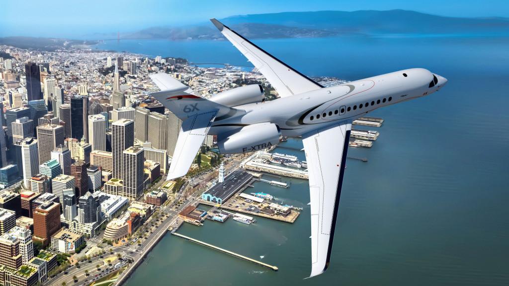 Dassault Falcon 6X Long-range Business Class Jet