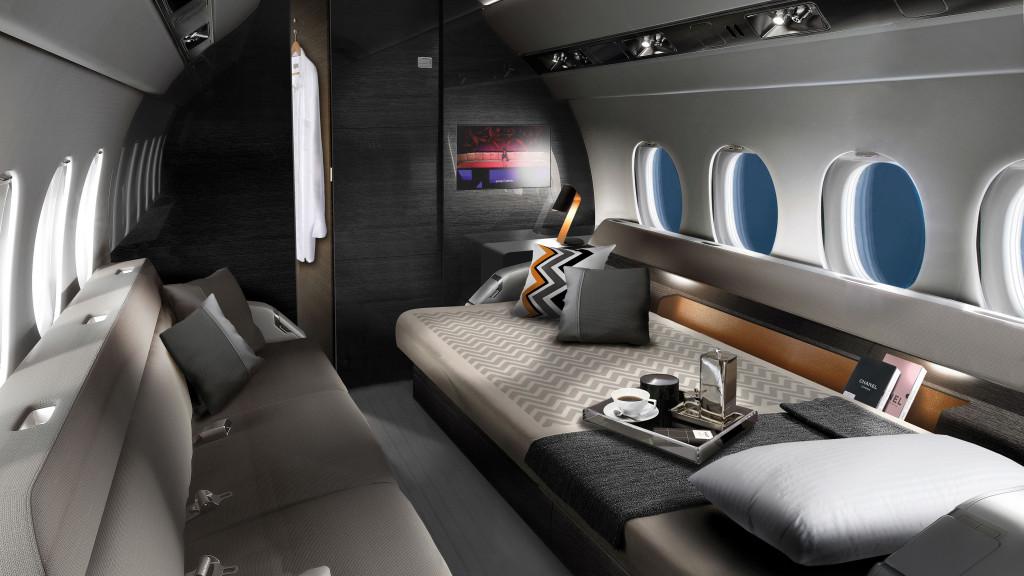 Dassault Falcon 6X Interior