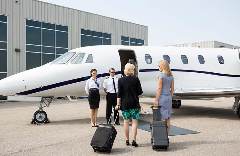 Convenient Private Jet Rentals