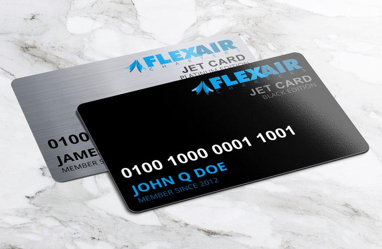 Flex Air Jet Cards