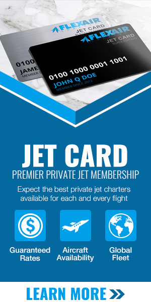Flex Air Charters Jet Card Membership
