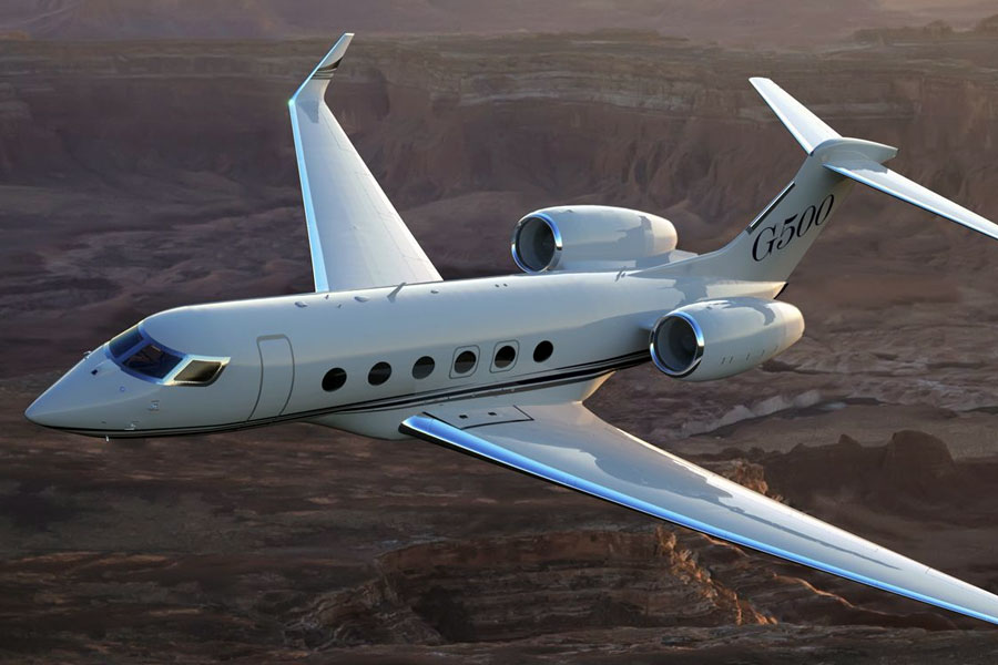 The Gulfstream G500 Business Jet