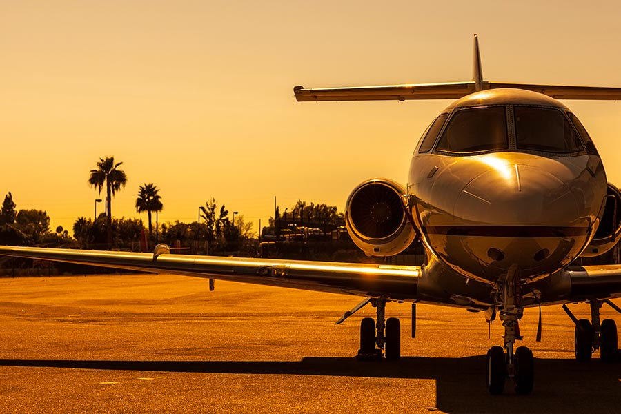 Jet Charters to Los Angeles