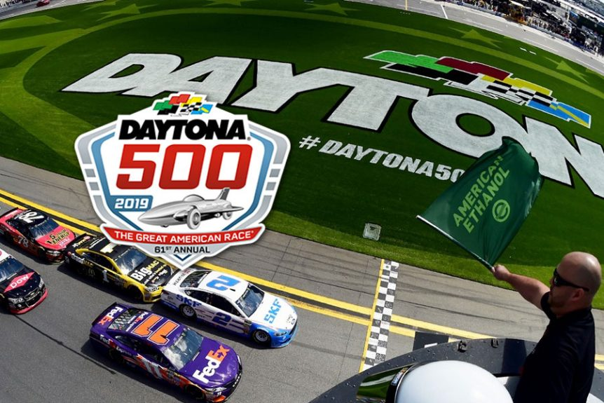 Private jet charter to the 2019 Daytona 500