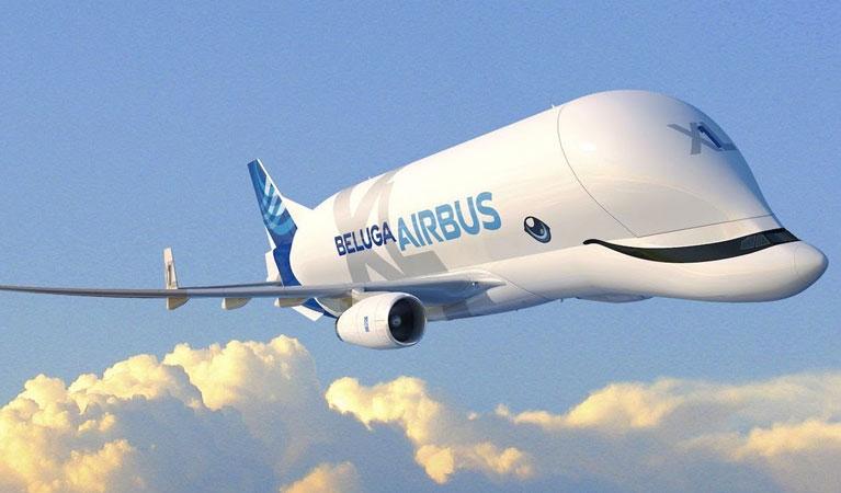 The Airbus Beluga XL Super Transporter