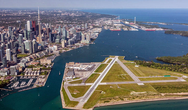 Toronto Canada's Billy Bishop Airport