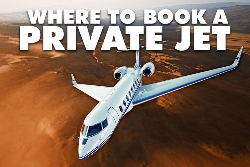 Where to book a private jet in 2018
