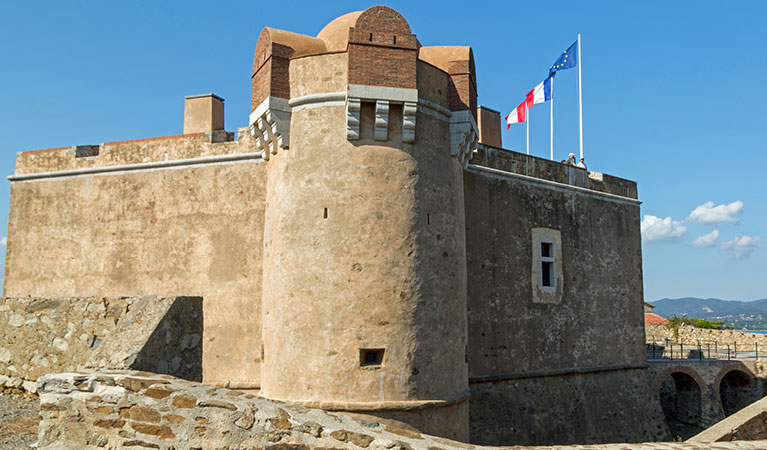 La Citadelle de Saint-Tropez fort in Saint-Tropez, France