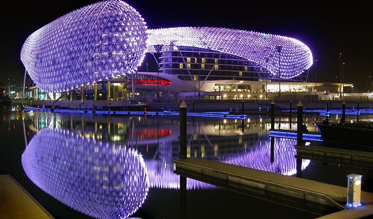 Yas Marina Hotel - Abu Dhabi Grand Prix Jet Charter