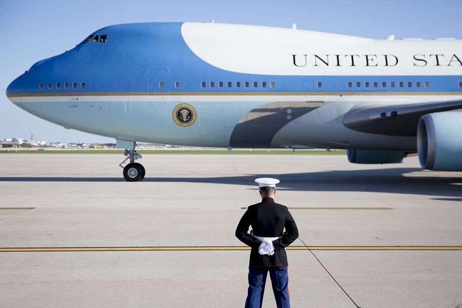 Air Force One - Boeing 747-200B