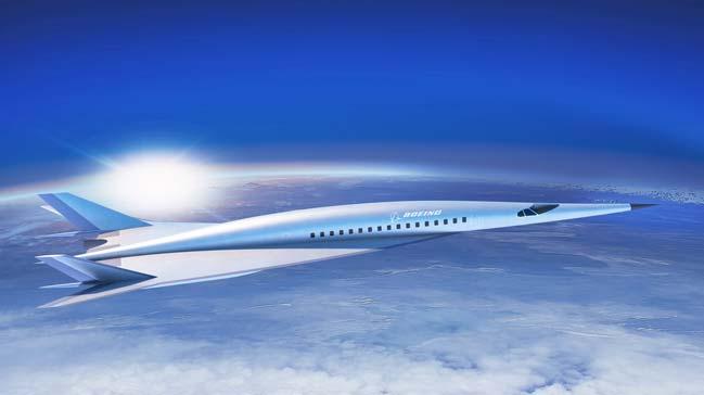 Boeing Hypersonic Jet