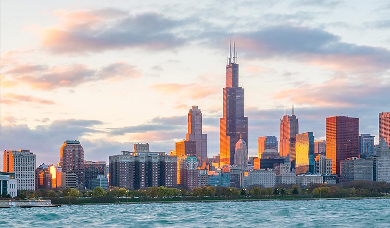 Jet Charters to Chicago, Illinois