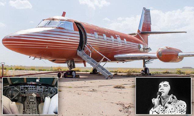 Elvis Presley's Vintage Jetstar for Sale in New Mexico