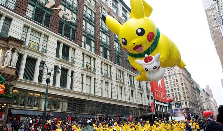 2018 Macy's Thanksgiving Day Parade Jet Charters