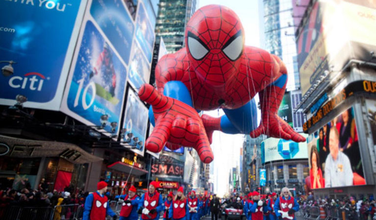 Charter a Private Jet to the 2018 Macy's Thanksgiving Day Parade in New York City