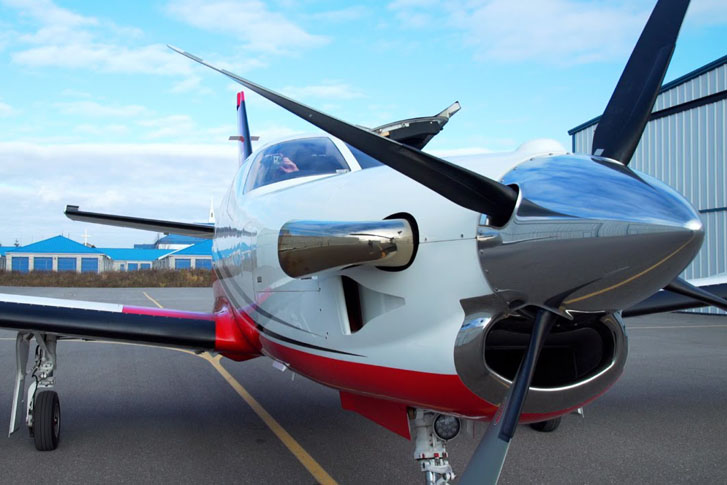 Private Jet Flight on a Turboprop