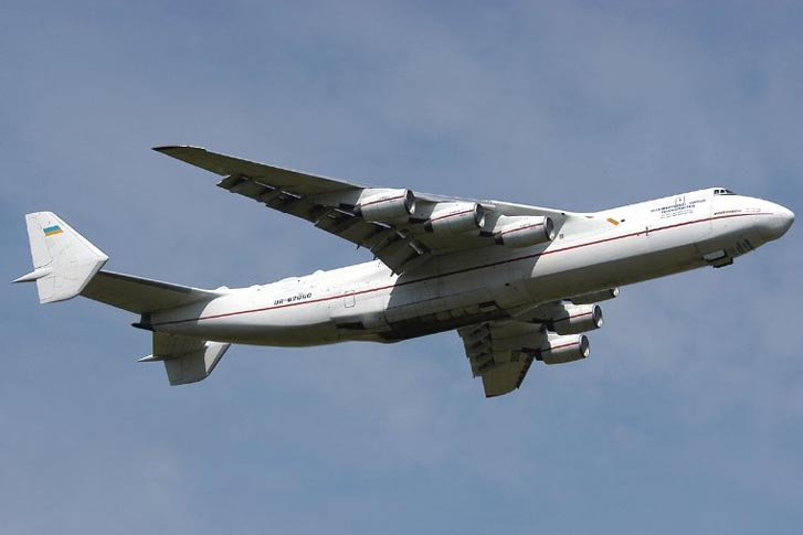 The Mriya Antonov An-225, the World's Largest Super Transporter Has King-Sized Capability