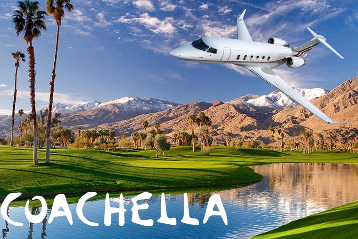 Travel in Style with Private Jet Charters to Coachella 2018