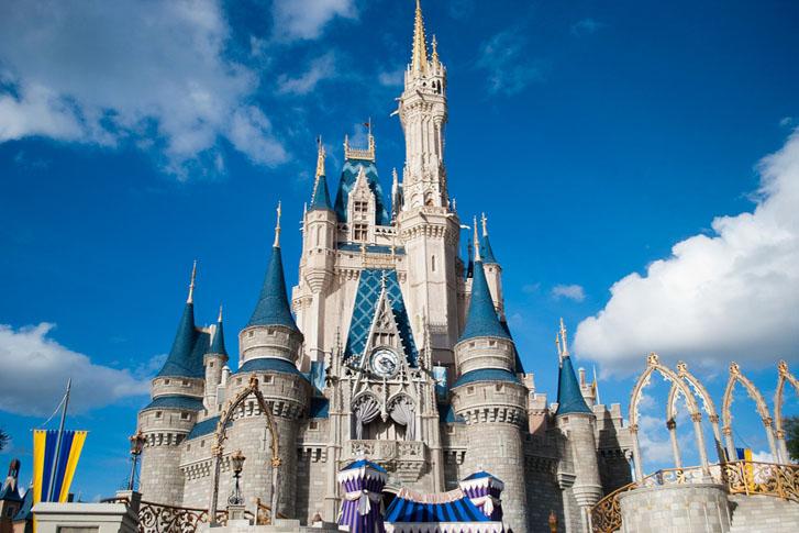 Walt Disney World Private Jet Charter