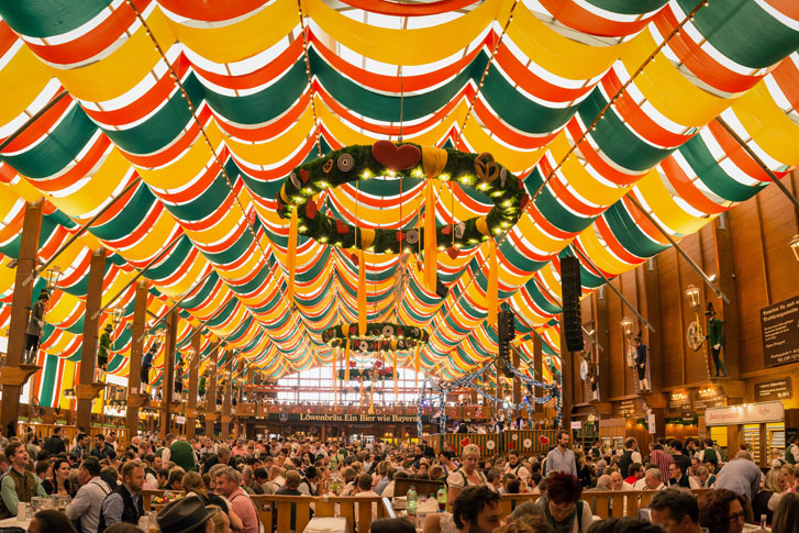 2018 Oktoberfest Festival in Munich