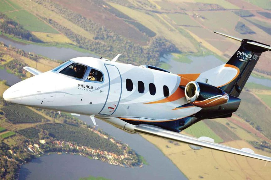Flex Air Charters Will Help You Lease an Embraer Phenom 100