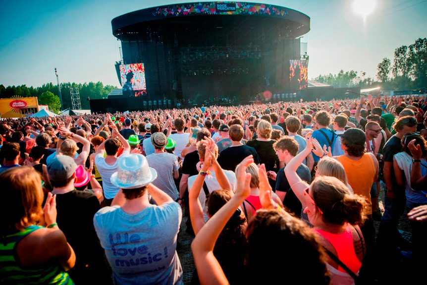 Private Jet Charter to the 2019 Werchter Rock Festival in Werchter, Belgium