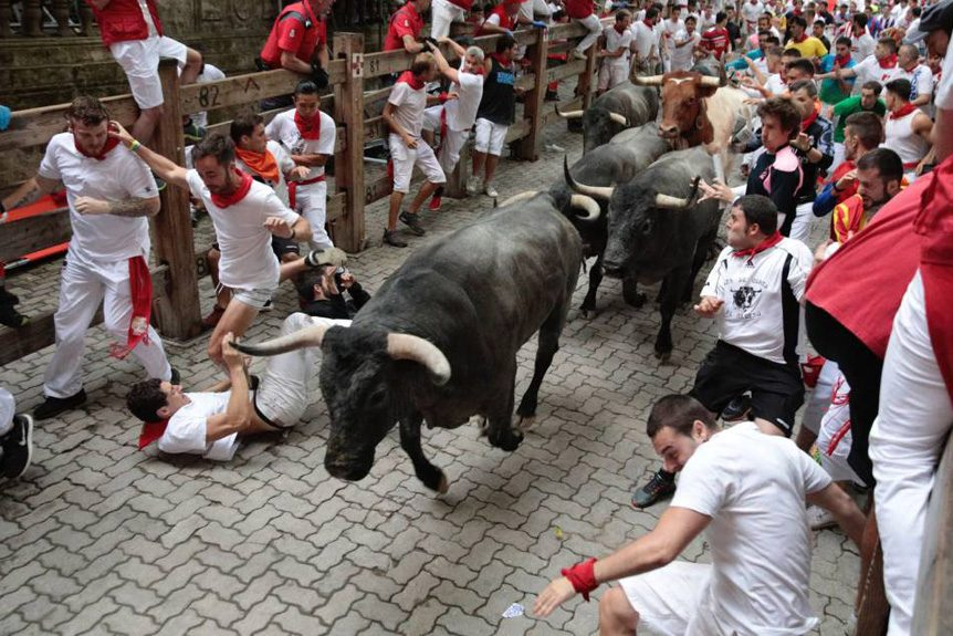 Private Jet Charters to the 2019 Running of the Bulls