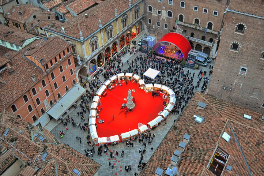 Reserve Luxury Private Jet Charters to the Verona in Love Festival