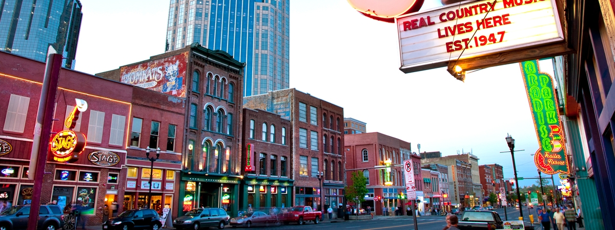 Nashville, Tennessee Jet Charters