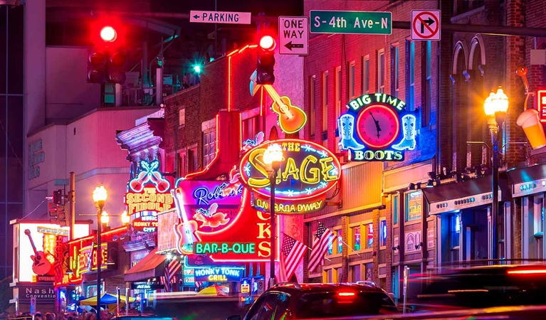 Jet Charters to Nashville, Tennessee